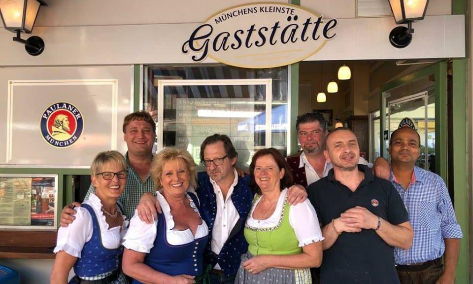 Personal Münchens kleinste Gaststätte